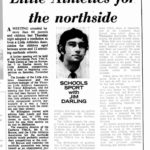 Canberra Times article 1970